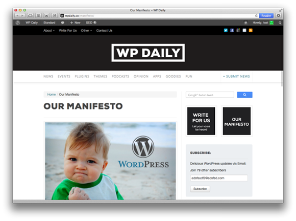 wpdaily